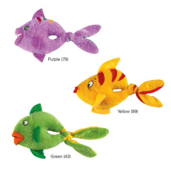 Grriggles fish tails dog toy for Fish dog toy